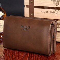 ทบทวน Victory Men S Hand Bag Cowhide Handbag Wallet Business Affairs Men S Bag Khaki Intl Unbranded Generic