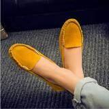 Victory Women Flat Shoes Han Edition Joker Leisure Doug Shoes Yellow Intl เป็นต้นฉบับ