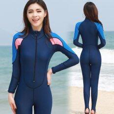 ชุดว่ายน้ำทรีทเมนต์ชุดว่ายน้ำ ชุดชุดว่ายน้ำ Blue Unbranded Generic ถูก ใน จีน