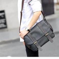 ราคา Vmon กระเป๋าหนังทรง Messenger สีดำ รุ่น C2642Pu ใส่ A4 ได้ ถูก
