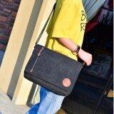 ขาย Vmon กระเป๋าสะพายข้าง กระเป๋าทรง Messenger รุ่น D7016 สีดำ ถูก กรุงเทพมหานคร