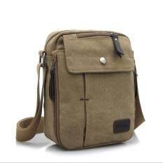 ราคา Vmon กระเป๋าสะพายข้าง Small Messenger Bag สไตล์ Leisure รุ่น 6662 สีกากี ใหม่ ถูก