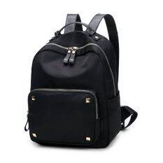 โปรโมชั่น Vn Fashion กระเป๋าเป้สะพายหลัง กระเป๋าเป้เกาหลี กระเป๋าสะพายหลังผู้หญิง Backpack Women รุ่น Vp 101 สีดำ Vn Fashion ใหม่ล่าสุด