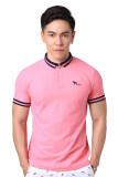 ขาย Volume X เสื้อโปโล รุ่น Vx001 สีชมพูราสเบอร์รี่ Raspberrt