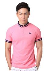 โปรโมชั่น Volume X เสื้อโปโล รุ่น Vx001 สีชมพูราสเบอร์รี่ Raspberrt ไทย