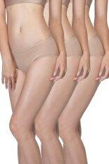Wacoal Best seller Super Soft panty 1 เซ็ท 3 ชิ้น (สีโอวัลติน/OVALTINE) - WU3811OTX3