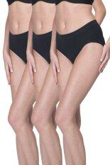 Wacoal Best Seller Body Seamless panty 1 เซ็ท 3 ชิ้น (สีดำ/BLACK) - WU3598BLX3