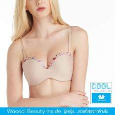 Wacoal Cool innovation Seamless bra 1/2 Cup (สีเบจ/BEIGE) - WB3K07BE