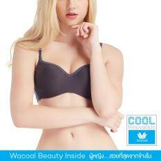 Wacoal Cool innovation Wireless bra บราไร้โครง 3/4 Cup - WB3X43
