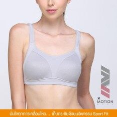 ราคา Wacoal Crossfit Support Sport Bra สำหรับสาวรอบอกเกิน 80 Cm สีเทา Grey Wr1486Gy ออนไลน์ ไทย