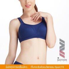 Wacoal Motion wear Crossfit support Sport bra บราสำหรับออกกำลังกาย สาวรอบอกเกิน 80 CM. - WR1486