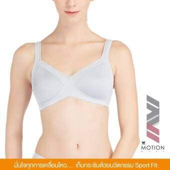 Wacoal Motion wear Crossfit support Sport bra บราสำหรับออกกำลังกาย สาวรอบอกเกิน 80 CM. - WR1483-