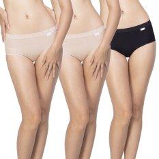 Wacoal กางเกงใน Dear hip short 1 เซ็ท 3 ชิ้น (สีเบจ 2 ชิ้น
