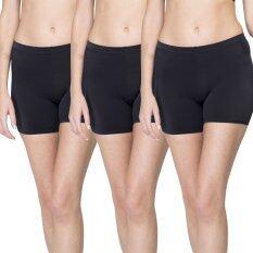 ส่วนลด Wacoal กางเกงใน Hot Pants 1 เซ็ท 3 ชิ้น สีดำ Black Wu4828Bl Wu4828Bl Wu4828Bl Wacoal ไทย
