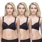 ทบทวน Wacoal Lingerie Best Seller Super Soft Bra บราสวมหัว 1 เซ็ท 3 ชิ้น สีดำ 3 ชิ้น Wh9A15Bl X3 Wacoal