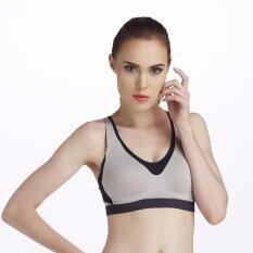 Wacoal Motion wear Sport bra บราสำหรับออกกำลังกายแบบสวมหัว - WR1505