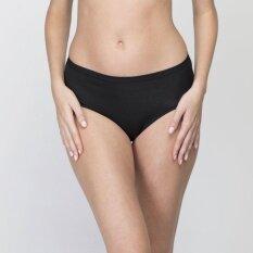 Wacoal Best Seller Super Soft panty (สีดำ/BLACK) - WU3722BL