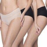 ขาย Wacoal Best Seller Super Soft Panty 1 เซ็ท 3 ชิ้น สีเบจ สีดำ Wu3811Bex1 Wu3811Blx2 ถูก ไทย