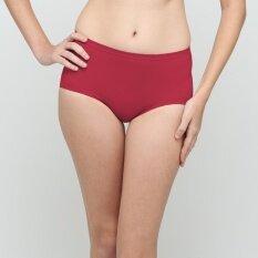 Wacoal U-Fit Panty  (สีแดง/RED)  - WU4937