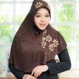 ราคา Waris Muslim ฮิญาบสำเร็จรูป ผ้ายืด Hf46 ที่สุด