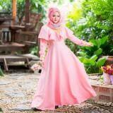 Waris Muslim เดรสมุสลิม Ic92 สีชมพู Waris ถูก ใน กรุงเทพมหานคร
