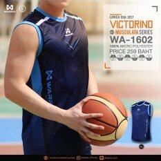 Warrix Sport Victorinoเสื้อแขนกุด Wa 1602 Dl สีกรมท่า Warrix Sports ถูก ใน กรุงเทพมหานคร