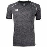โปรโมชั่น Warrix Sport เสื้อ Wa 1547 Ea เทา ดำ