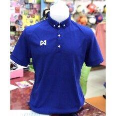 โปรโมชั่น Warrix Sport เสื้อโปโลWa 3315 Dd สีน้ำเงิน กรุงเทพมหานคร