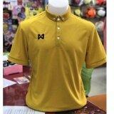 Warrix Sport เสื้อโปโลWa 3315 Nn สีทอง ใน กรุงเทพมหานคร
