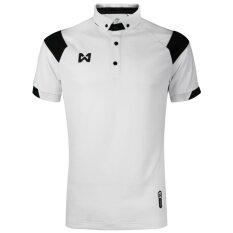 ซื้อ Warrix เสื้อโปโล Wa 3320 Wa สีขาว ดำ Warrix ถูก