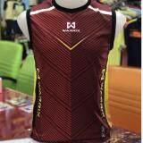 ซื้อ เสื้อแขนกุดสีแดง Warrix Sports ถูก