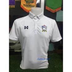โปรโมชั่น Warrix Sports Polo สีขาวล้วน สินค้าลิขสิทธิ์ Warrix