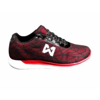 WARRIX รองเท้าวิ่ง WF-1301-RR (สีแดง)