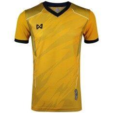 Warrix เสื้อฟุตบอลพิมพ์ลาย Wa 1550 Nn สีทอง ทอง Warrix ถูก ใน กรุงเทพมหานคร