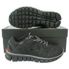 ส่วนลด รองเท้าวิ่ง รองเท้าจ๊อกกิ้ง Warrix Wf 1302 ดำ