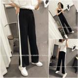 ขาย หญิงกางเกงเอวยางยืดกางเกง Wei ไซส์พิเศษไซส์ใหญ่พิเศษกีฬา สีดำ Other