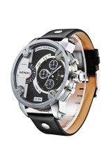 ขาย ซื้อ ออนไลน์ Weide นาฬิกาข้อมือผู้ชาย Military สายหนัง รุ่น Sport Oz Black