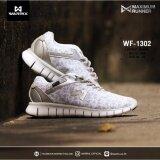 ราคา Wf 1302 Ww สีขาว รองเท้า Maximum Runner Warrix กรุงเทพมหานคร