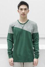 โปรโมชั่น What S Up Winter Comes The Sweater เสื้อกันหนาว เสื้อแฟชั่น ผู้ชาย Green ใน ไทย