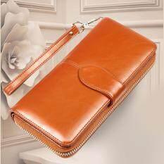 ขาย Wichu Bag กระเป๋าเงินผู้หญิง กระเป๋าสตางค์ ใบยาว กระเป๋าสตางค์ตามวันเกิด รุ่น Lw 062 สีน้ำตาล เป็นต้นฉบับ