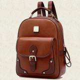 ซื้อ Wichu Bag กระเป๋าสะพายหลัง ผู้หญิง กระเป๋าแฟชั่น กระเป๋าเป้เกาหลี รุ่น Lp 019 สีน้ำตาล ออนไลน์