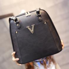 ขาย Wichu Bag กระเป๋าสะพายหลัง ผู้หญิง กระเป๋าแฟชั่น กระเป๋าเป้เกาหลี รุ่น Lp 034 สีดำ ออนไลน์ กรุงเทพมหานคร