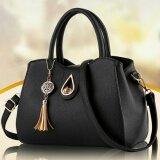 ซื้อ Wichu Bag กระเป๋าสะพายข้าง ผู้หญิง กระเป๋าแฟชั่น รุ่น Lb 056 สีดำ ใน กรุงเทพมหานคร