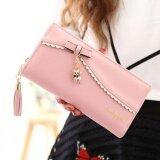 ทบทวน Wichu Bag กระเป๋าเงินผู้หญิง กระเป๋าสตางค์ ใบยาว กระเป๋าสตางค์ตามวันเกิด รุ่น Lw 086 สีชมพู Wichu Bag