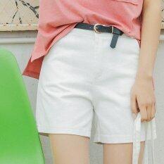 ซื้อ Will The New Summer 2017 Women S Clothing Leisure Joker Cotton Shorts Straight Canister Ladies Casual Pants Intl Unbranded Generic ถูก