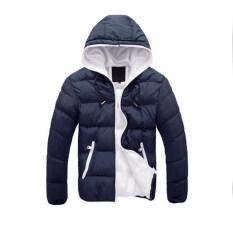 ขาย เสื้อแจ็กเก็ตมีซิปทนกว่าปกติหนาว น้ำเงิน Unbranded Generic ใน จีน