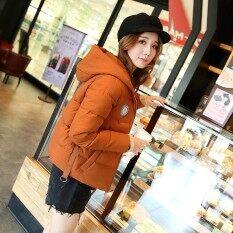 ซื้อ Winter New Korean Short Small Padded Jacket Down Feather Cotton Jacket Coat Bread Clothing Intl ออนไลน์