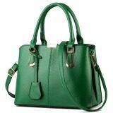 ขาย กระเป๋าแฟชั่นเกาหลีผู้หญิงน่ารักสีเขียวเข้ม ถูก
