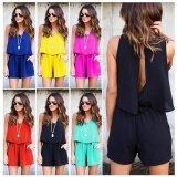 ราคา ราคาถูกที่สุด Women Clubwear Summer Beach Playsuit Bodycon Jumpsuit Backless Romper Trousers Black Intl