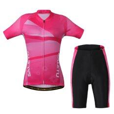 ส่วนลด Women Cycling Short Sports Clothing Bicycle Jersey Intl Vakind ใน จีน